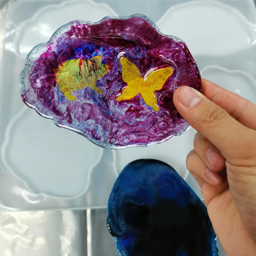 Liquid Translucent Epoxy Resin Pigment Set