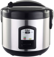 deluxe stainless steel rice cooker