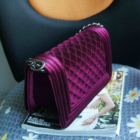 2020 hot sale wholesale christmas New style Velvet/polyester woman handbags shoulder purses ready to ship