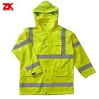 Hot selling High visible EN471 multi-functional pockets reflective jacket