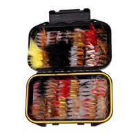 Wholesale pesca 120pcs/Set Lure Trout Bass Box Set Flies For Fly Fishing Nymphs Lures Flies