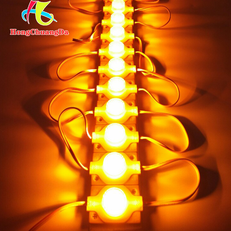 1.5w 12v yellow color led light for room lighting with high cost performance