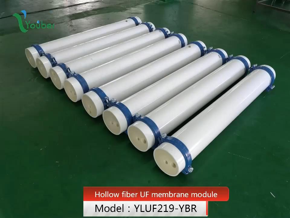 PVC/PVDF UF membrane water filter system, hollow fiber UF membrane module