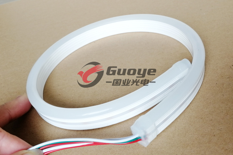 Factory led neon lights 8*16mm 12V 24V food grade silicone cover IP67 white RGB neon led strip free shipping