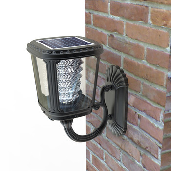 2019 modern design outdoor motion detector solar lights with ce rosh
