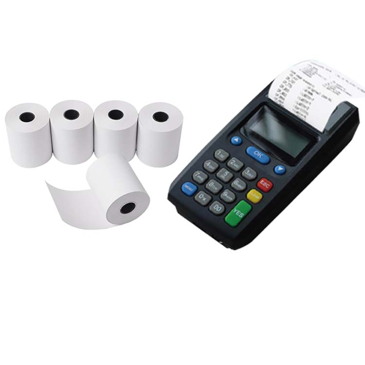 Factory Supply Non Thermal Paper Roll Free Sample Bond Bill Paper Roll 80mm x 50mm Cheapest Atm Paper