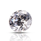 Wholesale Shining Cubic Zirconia White CZ Round 2 mm Synthetic Round Brilliant Cut Diamond