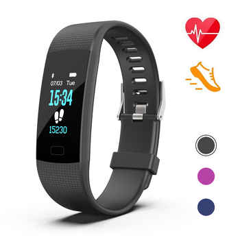 2018 Amazon Hotselling Smart Fitness Tracker Watch Band with Message Reminder, Waterproof IP68 Smart Bracelet PK fitbit