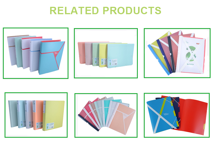 Office stationery classification file folder,eco-friendly office hardcover a4 file folder,paper file folder