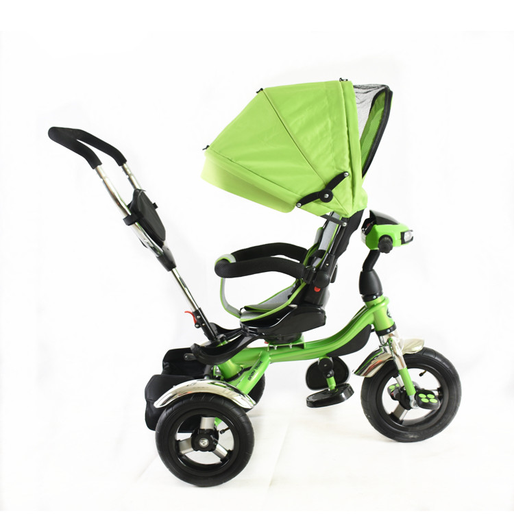 Luxury Baby Trike With Light And Music Baby Smart Trike Recliner Children 4 In 1 Baby Stroller Tricycle For Sale Buy Luxury Baby Trike With Light