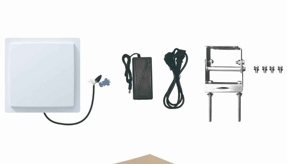 Lecteur de cartes RFID Bluetooth, UHF, longue portée de 7m, pour contrôle d'accès de stationnement de voiture