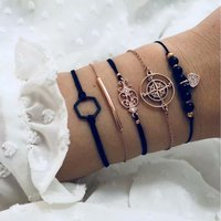 Women Jewelry Hand Chain Accessory Bracelets Bangles
