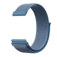 22 мм 20 мм Универсальный нейлоновый ремешок для samsung Шестерни S3 S2 классическая спортивная замена часы группы с регулируемая застежка(Китай)