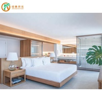 IDM-0062 High Quality Hotel Furniture Bed Room Resort Hotel Bedroom Set