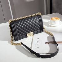 Hot ladies waterproof solid color crossbody quilted jelly bags 2020 fashion candy jelly handbags for women lady