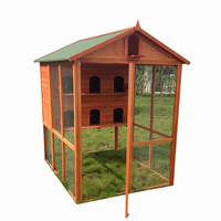 Chinese Large Aviary Canary Breeding Big Cage Wooden Pigeons Bird House with customized