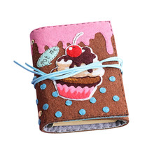 Мультяшный войлок, сделай сам, упаковка для маленьких девочек, детский блокнот ручной работы, креативный войлочный материал для животных, п...(Китай)