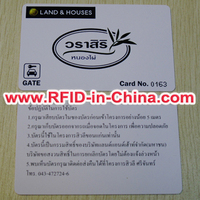 Hot Selling RFID Card Hack 13.56Mhz NFC RFID Smart Card with EXW Price