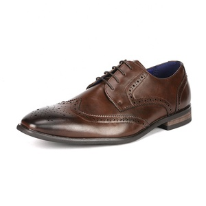 2020 Custom Sale Italian Office Business Leather Lace Up Design Pointed Men Dress Shoes