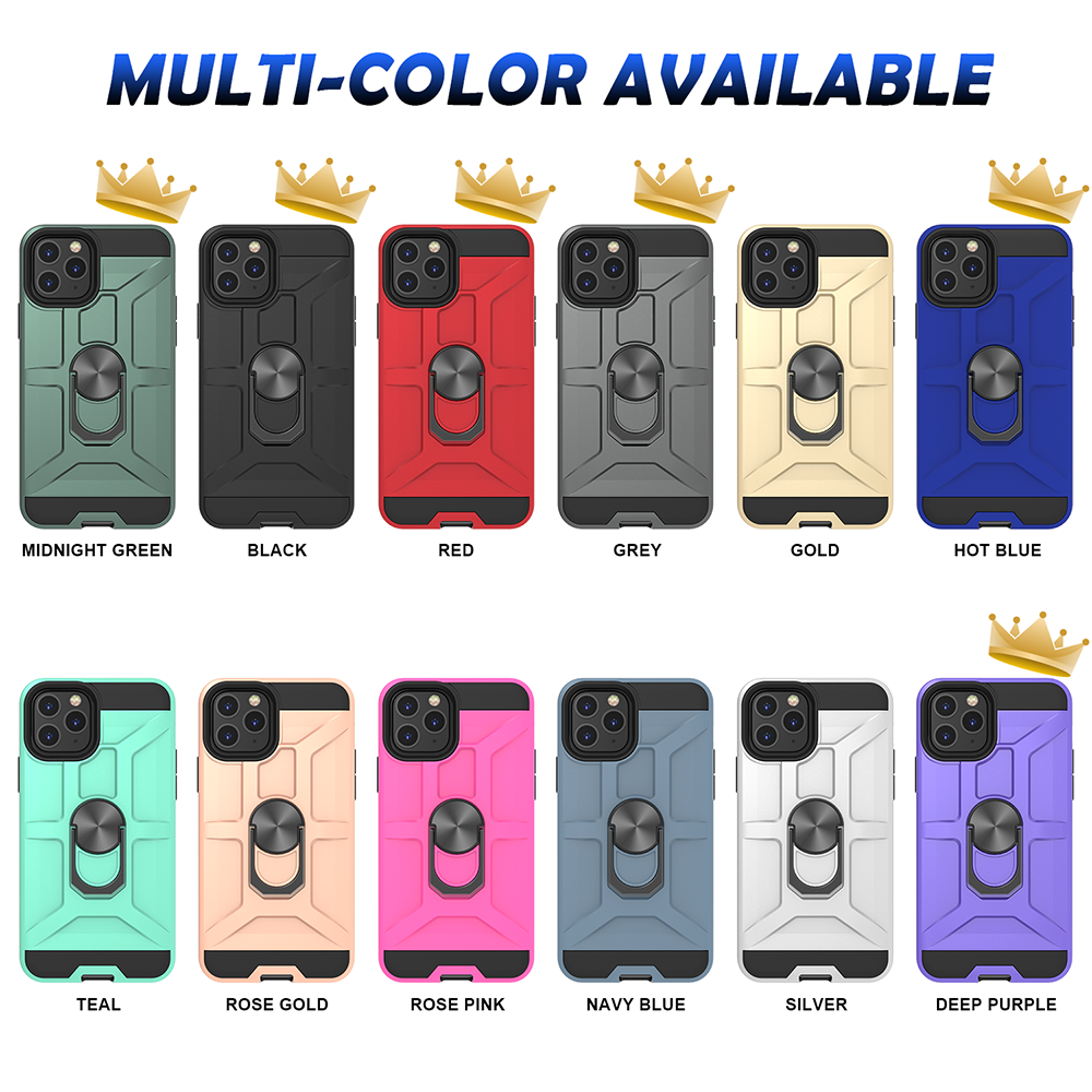 2020 Matte Finish 2 In 1 Combo Covers TPU PC Cell Phone Case Accessories For Redmi Note 9S 9 Pro Max