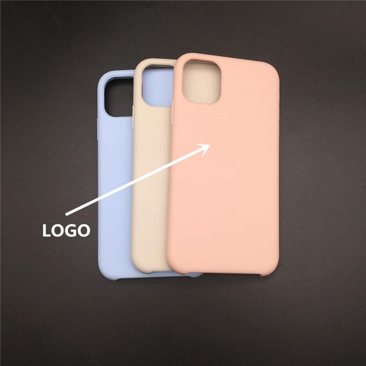 original silicone case for iphone 11/11 pro/11 pro max Flexible Soft TPU Silicone Phone Case