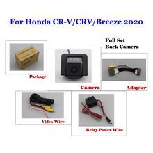 Автомобильная камера заднего вида для Honda CR-V CRV Breeze 2020, парковочная камера Full HD CCD, работает с оригинальными аксессуарами для экрана автомоби...(China)