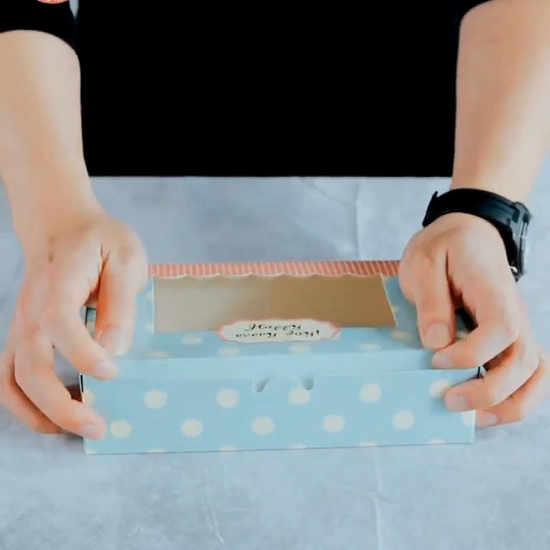 Su misura contenitore di imballaggio Della Caramella Del Bigné scatola di Imballaggio Per Alimenti Da Forno Della Torta Della pasticceria Biscotti Scatola di Carta Con Finestra