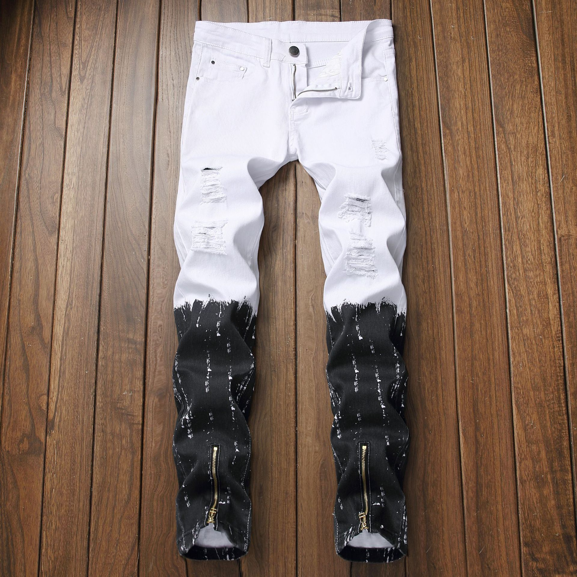 Venta Al Por Mayor Jeans Blancos Rotos Para Hombres Compre Online Los Mejores Jeans Blancos Rotos Para Hombres Lotes De China Jeans Blancos Rotos Para Hombres A Mayoristas Alibaba Com