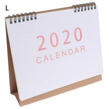 2020 Настольный календарь школьный офис планировщик горячая Распродажа kawaii порядок дня Настольный календарь ежедневный планировщик(Китай)