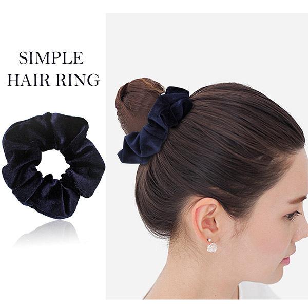Custom Fashion Elastic Hair Band Wholesale Ladies Hair Ties Accessories Elastic Velvet Hair Scrunchies