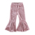 Customize Stretchy baby bell bottom pants kid girl boutique fall girls pants