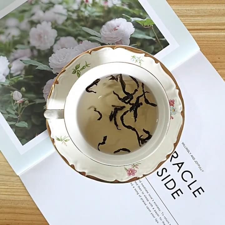 고품질 레트로 차 컵 빈티지 중국 도자기 세라믹 식기 연회 이벤트 파티