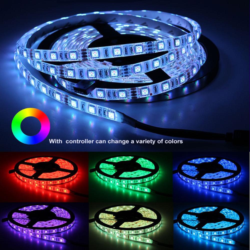 SMD 5050 2835 60 leds/m P65 Waterproof 12V flexible RGBW RGB LED Strip Light