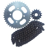 High Quality Standard Motorcycle 428H-116L Chain and Sprocket Kit forJD125 39T Sprocket Chain Motorcycle