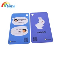 Top Quality Customized Educational Memory Flash Cards For Kids