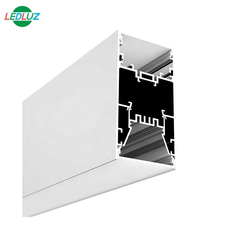 suspension mounted aluminum led profile for up and down light