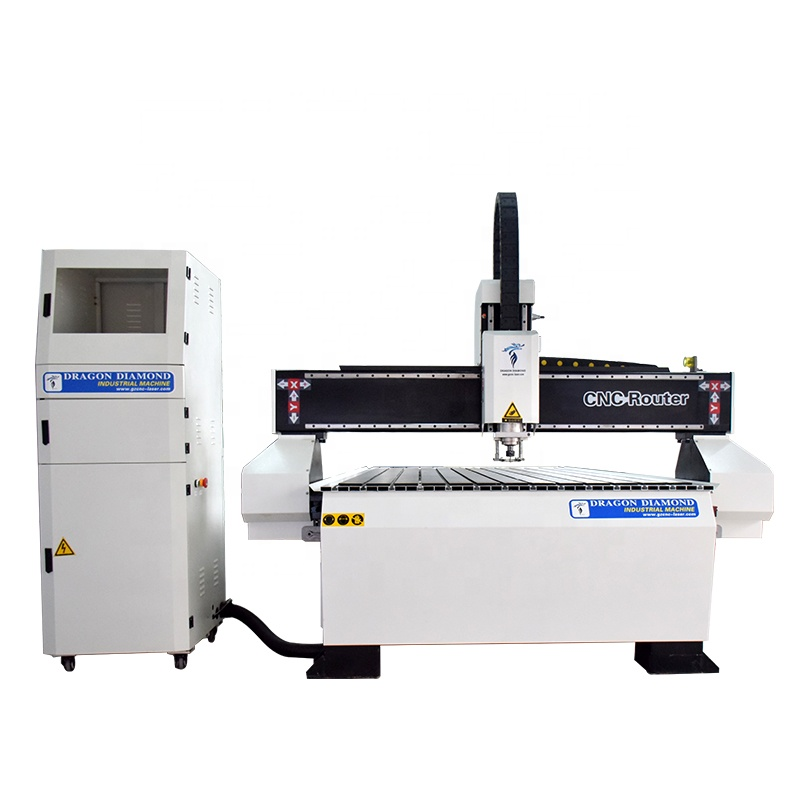 1325A 1300*2500mm multi head 3d stone metal cutting woodworking machine price cnc router with 3kw water cooling spindle