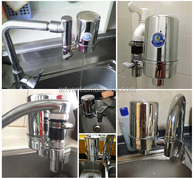 2019 Wholesale Household Kitchen Faucet Water Filter Mini 0.1 Micron Ceramic Filter Tap Water Purifier