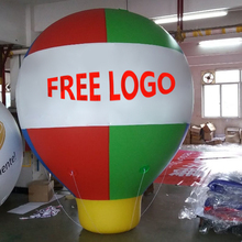 China Factory Custom Hot Selling Reclame Opblaasbare Grond Bal Giant Stand Ballon