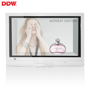Free Sample 43 inch android touch screen kiosk 3g/wifi wall transparent lcd display 3g wifi standing digital signage