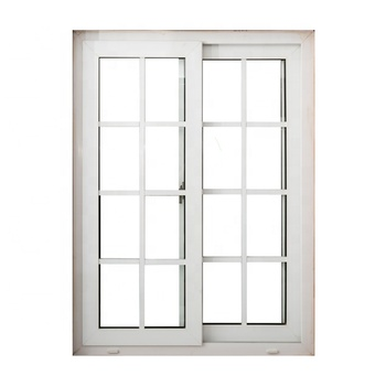 Super September Promotion White PVC/UPVC Sliding Window