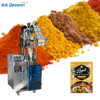 DS-200C Low Cost Small Vertical Chilli / Pepper / Spice Powder Sachet Packing Machine