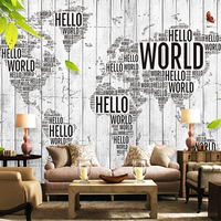 Best design custom wholesale room photo mural world map wallpaper murals sticker adhesive for home decoration 3d