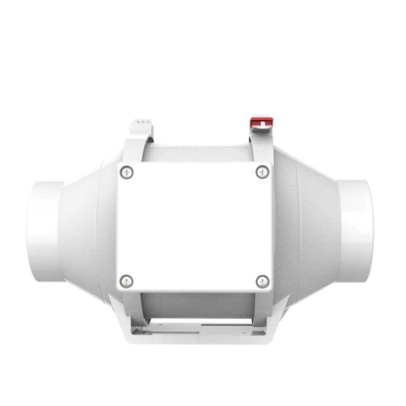 Vtronic Hoge Cfm 4 Inch Mini Kanaalventilator (100 Mm Uitlaat Fansblower)inline Fan Buy 4 Inch Duct Ventilator,4 Inch Mini Uitlaat Fans,Hoge Cfm 4