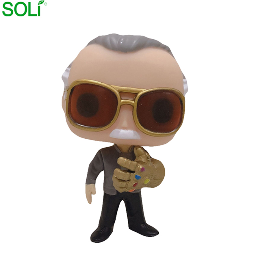 Vendite Calde Marvel Stan Lee Action Figure Funko Pop