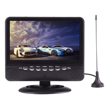 NS-701 7.5 Inci Mobil Monitor <span class=keywords><strong>TV</strong></span> Portable Player dengan Remote Controller, <span class=keywords><strong>USB</strong></span>/SD (MP5) Antarmuka dukungan PAL-BG/DK/I/N/M