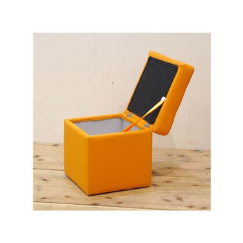 modern storage square stool