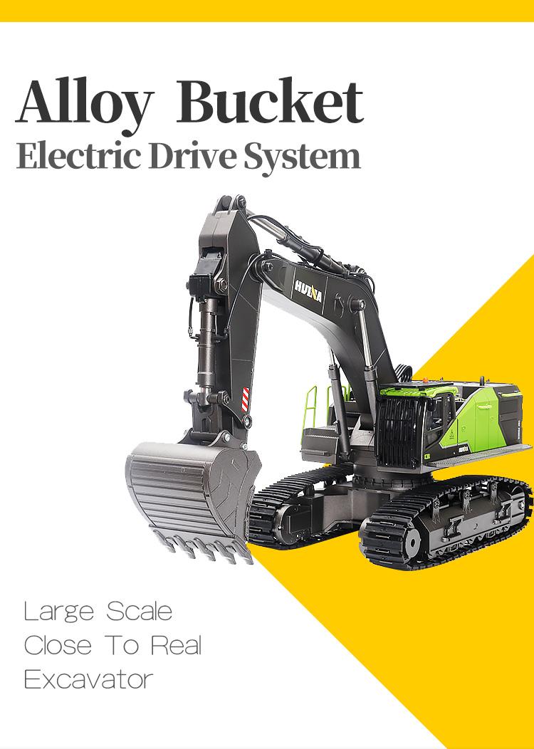New excavator 1593 remote control excavator professional suitable for children / / + 861326226936