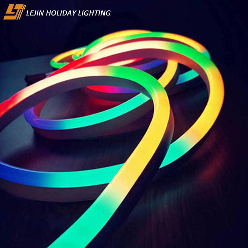 waterproof rgb 3V neon lights flamingo LED Neon Flex Strip Light