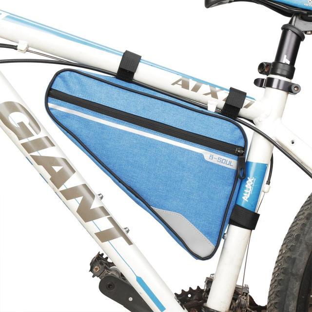 htrdjhrjy Funcional Tri/ángulo Marco Bicicleta Bolsa Cremallera Impermeable Delantero Tubo Ciclismo Paquetes Camping Picnic y Otro Actividades Al Aire Libre